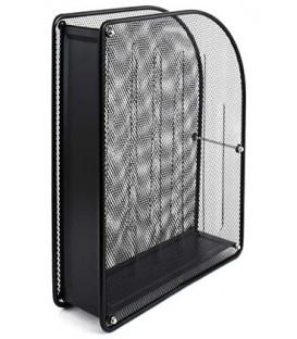 Лоток вертикальный металлический Forpus 345*275*80 мм, металлический, сетка, черный