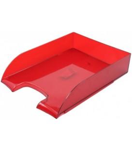 Лоток горизонтальный «Бизнес» 330*245*65 мм, рубиновый