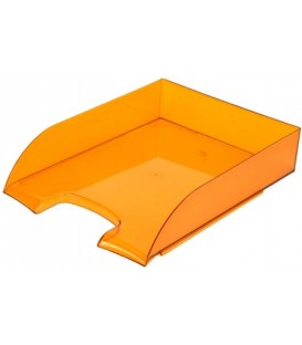 Лоток горизонтальный «Бизнес» 330*245*65 мм, оранжевый