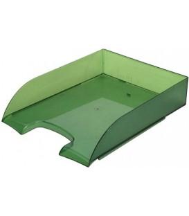 Лоток горизонтальный «Бизнес» 330*245*65 мм, зеленый