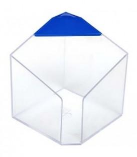 Бокс под бумагу для заметок «Статус» 90*90 мм, прозрачный