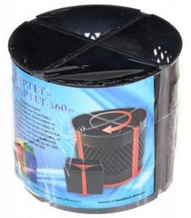 Подставка настольная «Квартет-360» 110*125 мм, черная