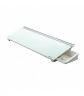 Подставка стеклянная Rexel Diamond 45,7*12,6 см