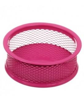 Подставка для мелочей Optima 95*35 мм, розовая