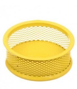 Подставка для мелочей Optima 95*35 мм, желтая