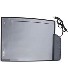 Подложка настольная с USB-разветвителями Durable 7216-01 330*405 мм, черная