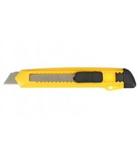 Нож канцелярский Sponsor ширина лезвия 18 мм, желтый