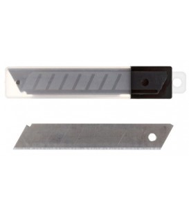 Лезвия для ножей Economix ширина лезвия 18 мм, 10 шт.