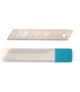 Лезвия для ножей Stanger ширина лезвия 18 мм, 10 шт.