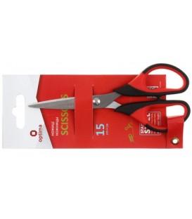Ножницы канцелярские Economix 150 мм, ручки с цветными вставками