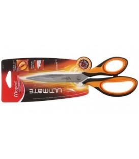 Ножницы канцелярские Maped Ultimate 210 мм, ручки черные с оранжевым