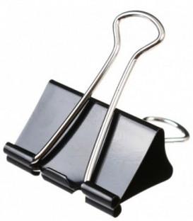 Зажим для бумаг Berlingo 41 мм, черный