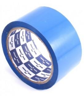 Клейкая лента упаковочная цветная Klebebander 48 мм*57 м, толщина ленты 40 мкм, синяя