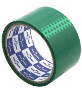 Клейкая лента упаковочная цветная Klebebander 48 мм*25 м, толщина ленты 40 мкм, зеленая