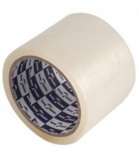 Клейкая лента упаковочная Klebebander 75 мм*57 м, толщина ленты 40 мкм, прозрачная