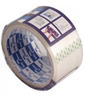 Клейкая лента упаковочная Klebebander 50 мм*40 м, толщина ленты 40 мкм, прозрачная