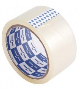 Клейкая лента упаковочная Klebebander 50 мм*63 м, толщина ленты 45 мкм, прозрачная