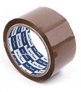 Клейкая лента упаковочная Klebebander 48 мм*50 м, толщина ленты 45 мкм, коричневая