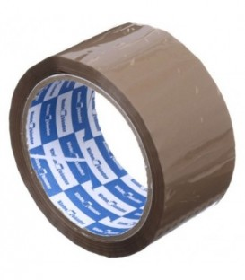 Клейкая лента упаковочная Klebebander 50 мм*55 м, толщина ленты 40 мкм, коричневая