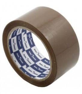 Клейкая лента упаковочная Klebebander 48 мм*63 м, толщина ленты 45 мкм, коричневая