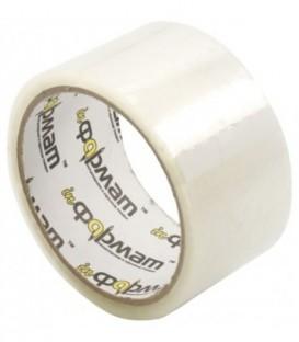 Клейкая лента упаковочная inФормат 48 мм*36 м, толщина ленты 40 мкм, прозрачная