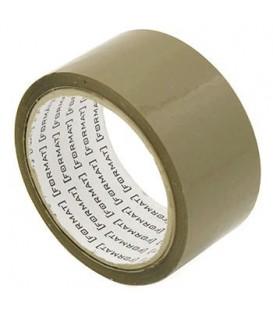 Клейкая лента упаковочная Format 45 мм*45 м, 36 мкм, коричневая