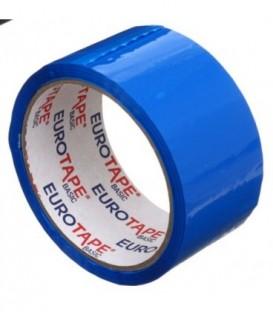 Клейкая лента упаковочная «Итерапласт Балтик» 48 мм*50 м, 45 мкм, синяя