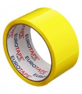 Клейкая лента упаковочная «Итерапласт Балтик» 48 мм*50 м, 45 мкм, желтая