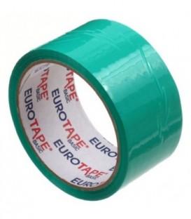 Клейкая лента упаковочная «Итерапласт Балтик» 48 мм*50 м, 45 мкм, зеленая