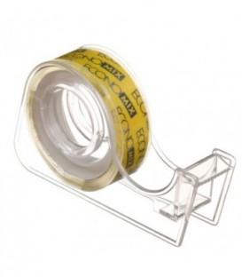Диспенсер для клейкой ленты канцелярской с лентой Economix 70*40*15 мм, для ленты шириной 12 мм