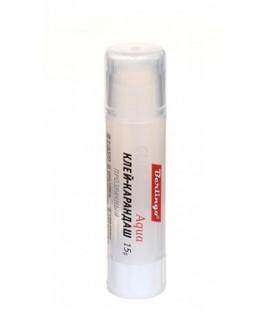 Клей-карандаш Berlingo Aqua 15 г, прозрачный