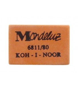 Ластик Mondeluz 27*17 мм, оранжевый