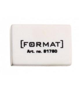 Ластик Format 30*20*10 мм, белый