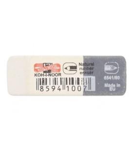 Ластик комбинированный Sunpearl 40*13 мм, белый с серым