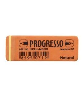 Ластик Progresso 58*19 мм, оранжевый, 6821/40