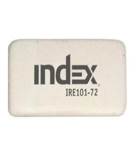 Ластик Index 8*20*31 мм, белый