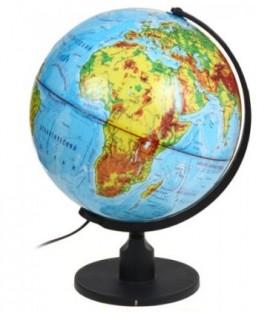 Глобус физический с подсветкой Rotondo диаметр 320 мм