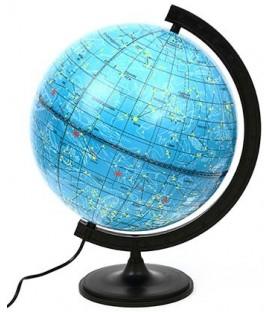 Глобус астрономический с подсветкой «Роскартография» диаметр 320 мм