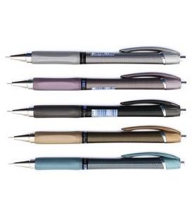 Ручка шариковая автоматическая Linc Elantra корпус ассорти, стержень синий
