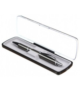 Ручка подарочная шариковая Signature 500 корпус темно-серебристый