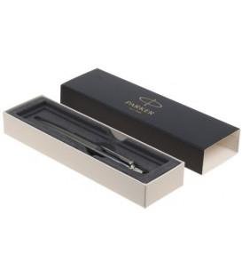 Ручка подарочная шариковая Parker Jotter Premium Oxford Grey Pinstripe CT корпус серебристый