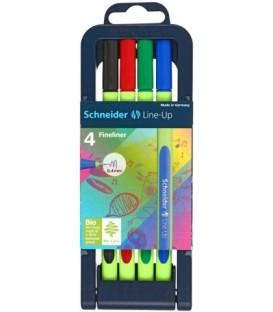 Набор лайнеров Schneider Line-Up 4 цвета
