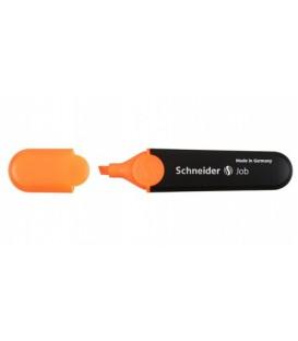 Маркер-текстовыделитель Job оранжевый