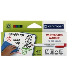 Набор маркеров для вайтбордов Centropen 4 цвета