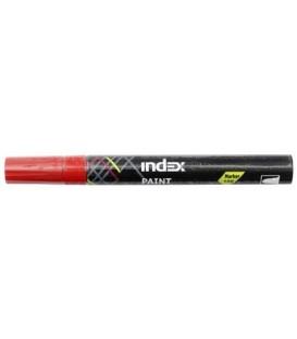 Маркер лаковый Index IPM100/IMP100 красный