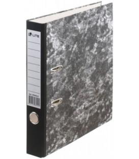 Папка-регистратор inФормат «под мрамор» корешок 55 мм, черный