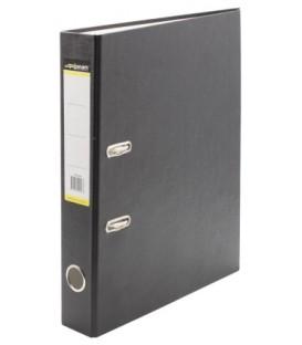 Папка-регистратор inФормат с односторонним ПВХ-покрытием корешок 50 мм, черный