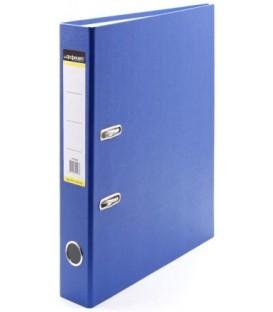 Папка-регистратор inФормат с односторонним ПВХ-покрытием корешок 50 мм, синий