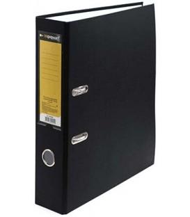 Папка-регистратор inФормат с односторонним ПВХ-покрытием корешок 70 мм, черный