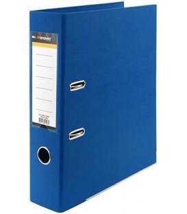 Папка-регистратор inФормат с двусторонним ПВХ-покрытием корешок 75 мм, синий